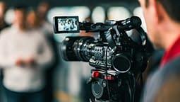camera-at-media-conference-P2KNG3V