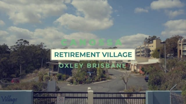 video production, canossa retirement village video